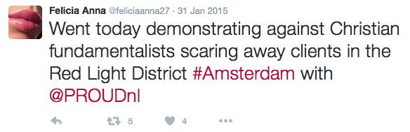 Dutch Christians Against Prostitution Amsterdam