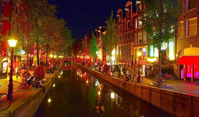 Interview Window Prostitute Amsterdam The Netherlands