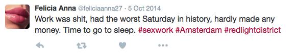 Salary Amsterdam Window Prostitute Tweet