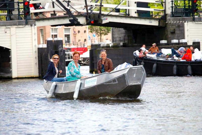 Rent A Boat In Amsterdam Yourself