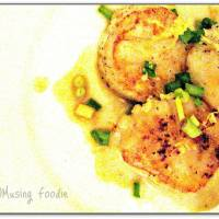 Pan Seared Scallops With Lemon Butter Sauce