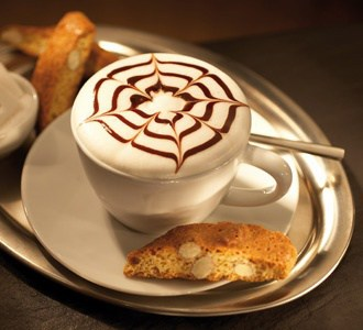 November 8 is National Cappuccino Day, november food holidays, american food holidays
