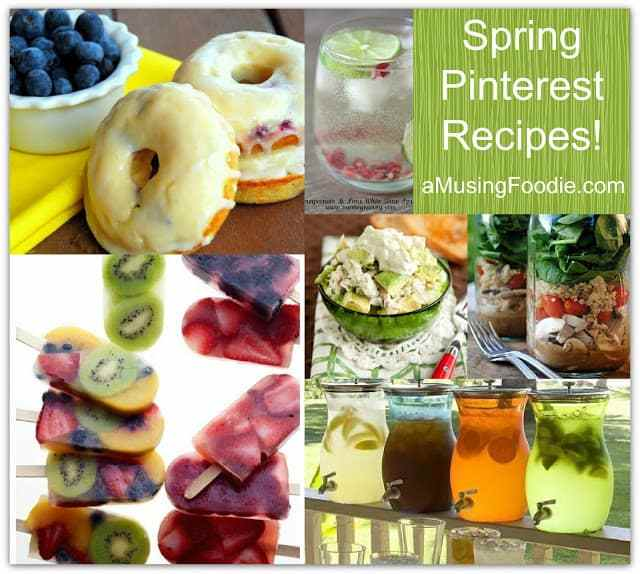 pinterest, spring, recipes