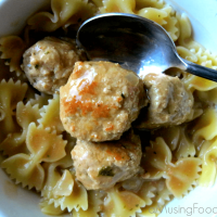 Swedish Meatballs with Ground Turkey