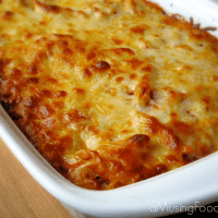 Simple Homemade Baked Ziti