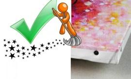 nettoyer-tableau-peint-acrylique
