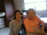 Me and mu Aunt Mary.