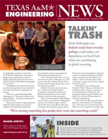Texas A&M Engineering News