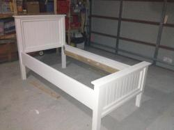 Small Of White Twin Bed
