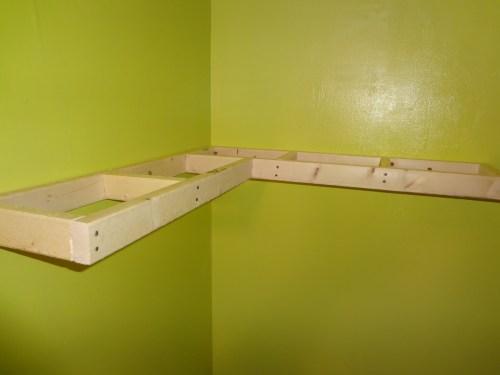 Medium Of Corner Floating Shelf