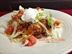 chicken and doritos casserole