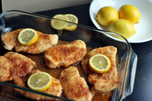 Brown Sugar Lemon Chicken