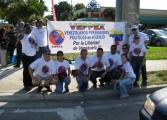 Exiliados venezolanos en Miami piden hacer el referéndum en las calles