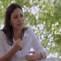 Denuncian que agredieron a María Corina Machado durante recorrido en Mérida (Video)