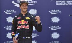 Daniel Ricciardo (Red Bull) logra la pole en el GP de Mónaco