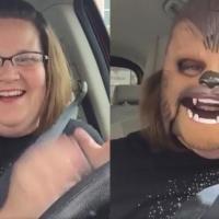 """Candace Payne, la """"Chewbacca mom"""""""