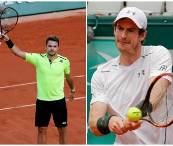 Murray y Wawrinka avanzan sin problemas a octavos en Roland Garros
