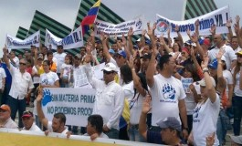 Trabajadores de Polar protestaron por escasez de materia prima en Lara