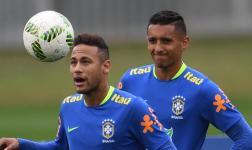 Neymar hace temblar a su compañero de selección