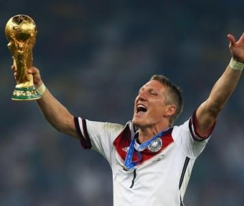 Bastian Schweinteiger se retiró de la selección alemana