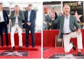 Michael Keaton ya tiene su estrella en el Paseo de la Fama de Hollywood (Fotos)