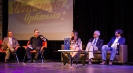 Los panelistas hablaron sobre su amor hacia Venezuela y las ganas que tienen de seguir luchando