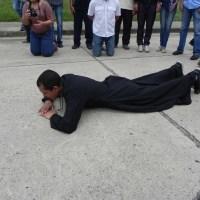 Padre Lenín Bastidas llegó a Carabobo en su ruta hacia Caracas (+Fotos)
