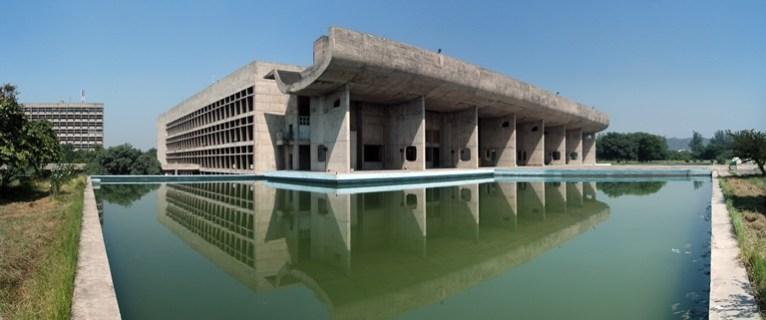 Parlamento o asamblea de Chandigarh, en India