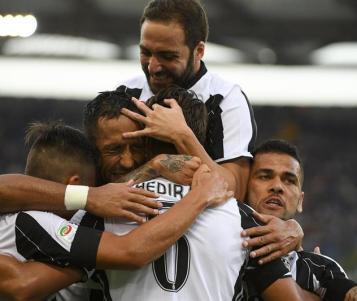 Khedira marcó para victoria de la Juventus ante Lazio