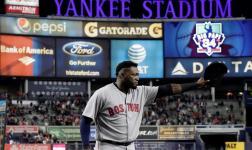 """El """"Big Papi"""" se despide del Yankee Stadium con ovación"""