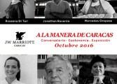 """Conversatorios gastronómicos """"A la manera de Caracas"""" a partir del 1 de octubre"""