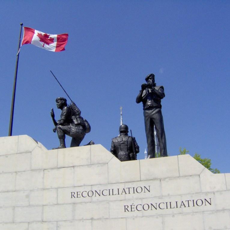 También conocido como el Monumento al Mantenimiento de la Paz, es el único en su tipo