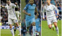 Ronaldo, Bale y Agüero, nominados al Balón de Oro
