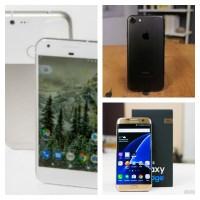 Google Pixel vs iPhone 7 vs Samsung Galaxy S7 Edge