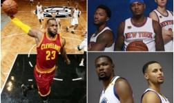 Cavaliers inician defensa título ante Knicks y Warriors debutan ante Spurs