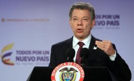 Santos instala Misión Electoral Especial como parte de acuerdo con las FARC