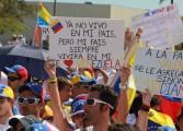 Venezolanos en EEUU también protestarán contra suspensión del RR