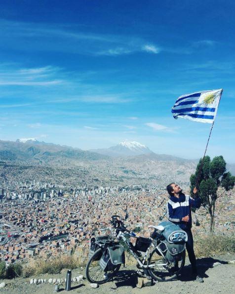 En la ciudad de La Paz. Bolivia