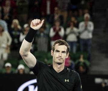 Andy Murray se mantiene implacable en el Abierto de Australia