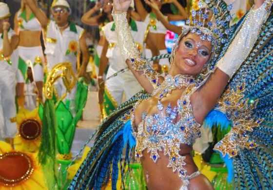 ¡Fiesta en Río! Brasil calienta motores para el carnaval a ritmo de samba