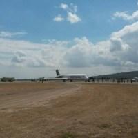 Avión de Aeropostal aterrizó de emergencia en Lara por incendio en el motor