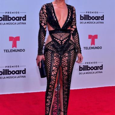 Jennifer lopez en los premios billboard 2017