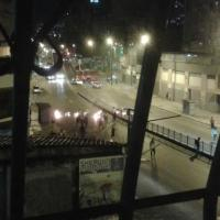 Reportan represión de GNB y PNB a manifestantes en Av. San Martin