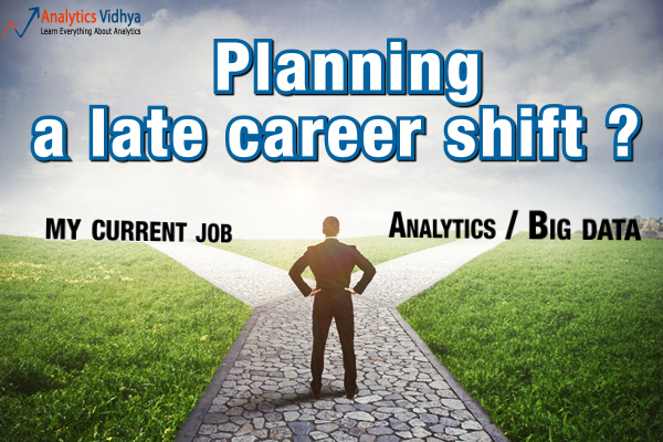 planning a late career shift ?