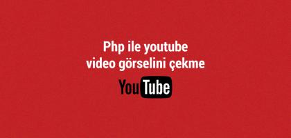 youtube video gorselini cekme