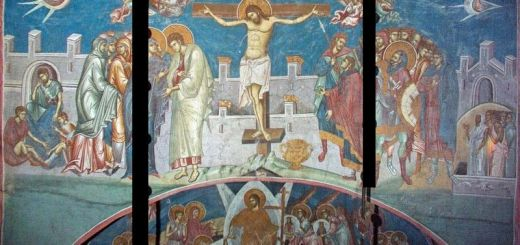 800px-Crucifixion_of_Christ_-_Visoki_Dečani_Monastery