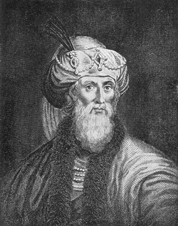Grabado idealizado de Flavio Josefo que aparece en la traducción de su obra llevada a cabo por William Whiston. (Public Domain)
