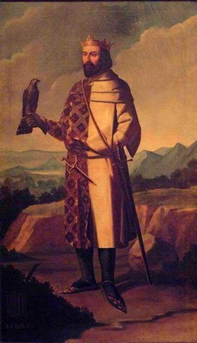 Representation of Juan I of Aragon.