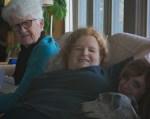Barbara Shelton, Shirley Shelton Scott (Barbara's daughter), Linnane Shelton (Shirley's niece and Barbara's granddaughter)