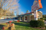 In Brevard NC. This is owned and operated by Shirley's childhood friend Lori Roberts. A very cute, and retro motel. Well done!